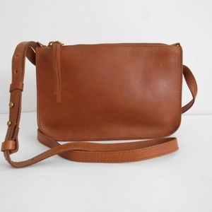 New MADEWELL 'The Simple' Leather Crossbody